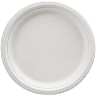 AmazonBasics Compostable 10-Inch Plates, Pack of 125