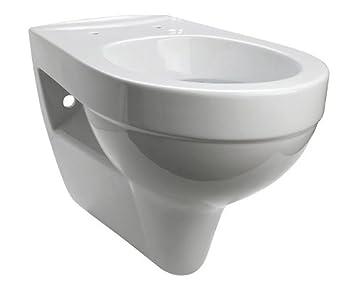 Komfort Wand Wc Tiefspuler Plus 6 Cm Hohe Extrahoch Weiss Amazon