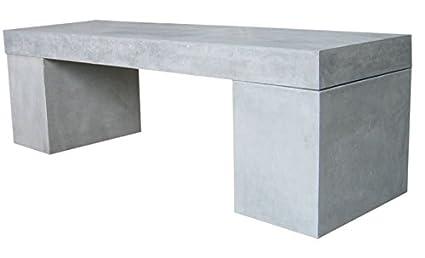 Berühmt Amazon.de: Beton Sitzbank 160x40x45 cm Massiv Leichtbeton LS77