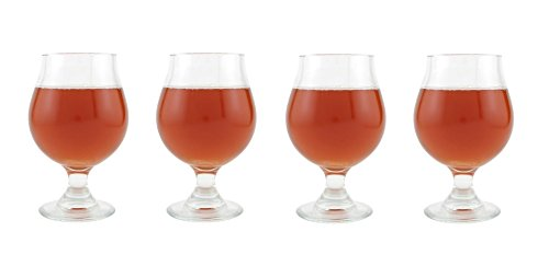 (Libbey Belgian Beer Glass - 13 oz, Set of)