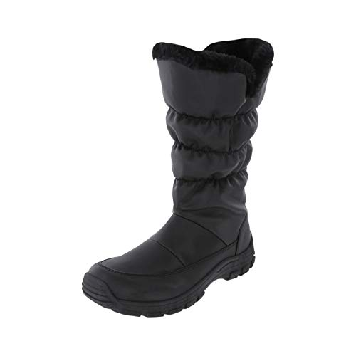 Rugged Outback Black Women's Slushie -20 Weather Boot 6 Regular