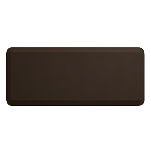 """NewLife by GelPro Professional Grade Anti-Fatigue Kitchen & Office Comfort Mat, 20x48, Earth ¾"""" Bio-Foam Mat with non-slip bottom for health & wellness by NewLife by GelPro (Image #1)"""