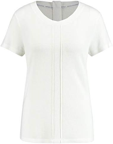 Taifun damska koszulka z dżerseju strukturalnego, podkreślająca figurę: Taifun: Odzież