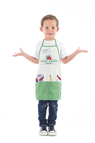 Little Adventures Roleplay Apron Dress Up Sets (Grocery Market) ()