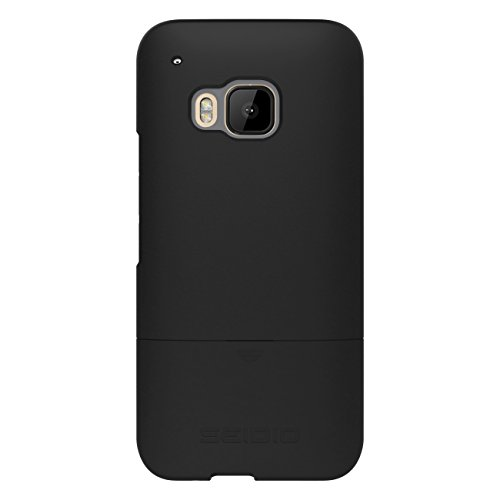 - Seidio New Surface Case with Shock Absorbent Inner Layer for use with HTC One M9 - Black