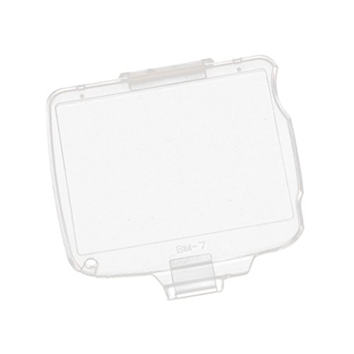 (MagiDeal BM-7 Hard LCD Screen Protective Cover Protector for Nikon D80 SLR)