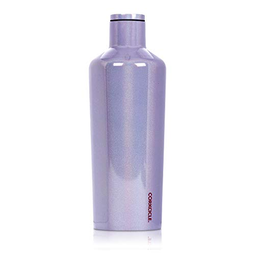 Corkcicle 60oz Canteen Classic Collection - Water Bottle & Thermos - Triple Insulated Shatterproof Stainless Steel, Sparkle Pixie Dust