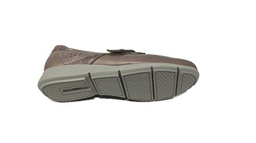 Zapato Oro Piel Drucker Ancho Especial Mujer r0qgfxwr