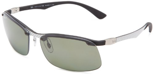5a56e5038 Ray-Ban mens 0RB8314 127/8163 Polarized Tech Carbon Fiber Rectangle  Sunglasses (B00ID7G80S) | Amazon price tracker / tracking, Amazon price  history charts, ...