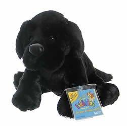 Webkinz Black Labrador Retriever Dog