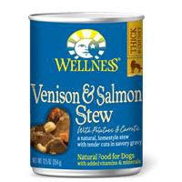 Venison and Salmon Stew Dog Food 12.50 Ounces (Case of 12) For Sale