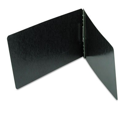 End Opening PressGuard Report Cover, Prong Fastener, Legal, Black, Total 100 EA, Sold as 1 Carton