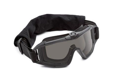 Revision Military Desert Locust Fan Goggle Basic - Solar Lens - Black