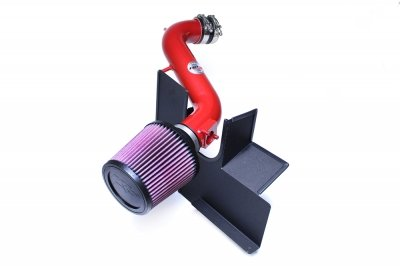 HPS 27-260R Red Shortram Air Intake Kit with Heat Shield (Cool Short Ram SRI) ()