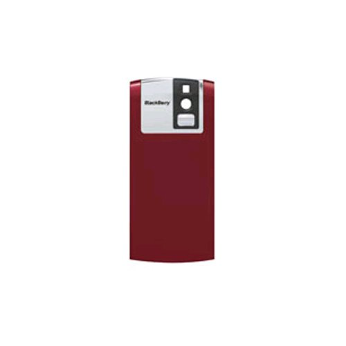 New RIM Blackberry 8100/ Pearl Red Cell Phone Models Factory Original Battery Door (Blackberry 8100 Battery Door Cover)
