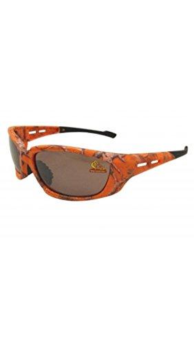 Orange Camouflage Sunglasses Mothwing Brown Lense Sports - Sunglasses Orange Camo