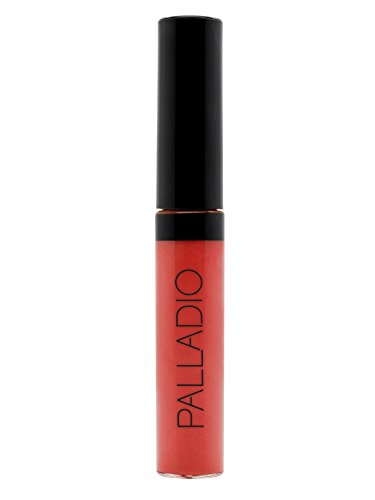 - Palladio Lip Gloss, Pure Natural, Non-Sticky Lip Gloss, Contains Vitamin E and Aloe, Offers Intense Color and Moisturization, Minimizes Lip Wrinkles, Softens Lips with Beautiful Shiny Finish