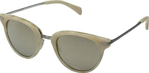 Paul Smith JARON PM8253S - 10495A Sunglasses Beige Silver w/ Taupe Flash 51mm - Paul Smith Shoes Women