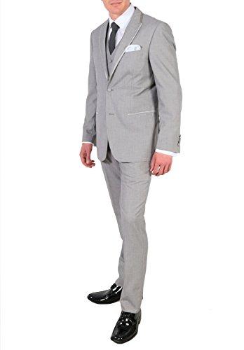 Ferrecci 40R Verona Grey Slim Peak 3pc Tuxedo