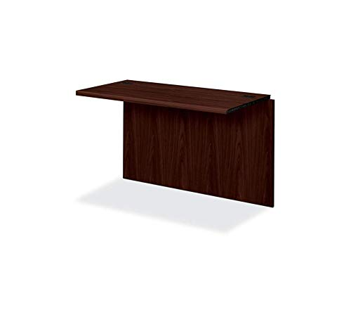 Office Home Furniture Premium 10700 Waterfall Edge Series 47 by 24 by 29-1/2-Inch Bridge for U Workstation, Mahogany