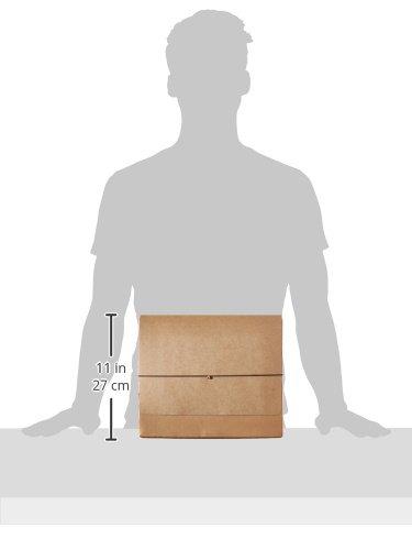 Pendaflex - Archivador de papel kraft con solapa, Jan.-Dec. Index, 12 x 10, 1 por caja (K-17M-OX): Amazon.es: Oficina y papelería