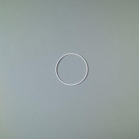 Cercle métallique blanc diam. 10 cm pour abat-jour, Anneau pour attrape rêves Efco