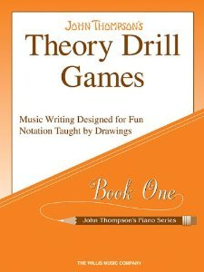 Theory Drill Games Book 1 (John Thompson's Piano) by Thompson, John (2005)
