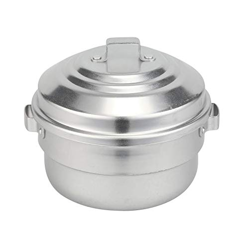 Kyyte Anodised(Hindalium) Aluminium Idli Maker/Non-Whistling Traditional Idli Cooker/Idlipot, Cooking 12 Idlis Size 12, White Color, LPG Stove Compatible Only Price & Reviews