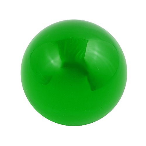 uxcell 30mm Diameter Solid Round Acrylic Sphere Plexiglass Ball Ornament Lime