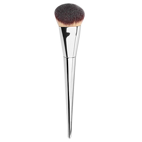 Price comparison product image Face Makeup Brushes Tool,  Sdoo 1 PC Large Electroplating Rod Conical Makeup Brush Beauty Tools Blush Concealers Make Up Brushes Kit Tops (Silver)
