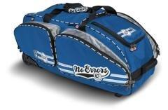 No Errors No E2 Catchers Bag With Fatboy Wheels   Wheeled Baseball Equipment Gear   Helmet Bags  Royal