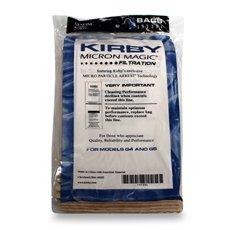 Kirby® Genuine Micron Magic® Filter Bags 3 PK + 3 FREE Kirby Belts
