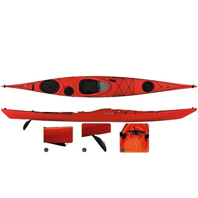 Venture Jura MV Kayak w/ Skudder Yellow by Venture