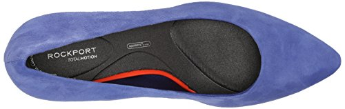 Total Motion Pump Kid Rockport Suede Pointy Women's 75mm Cobalt qEanx1n5