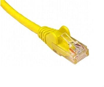 Amarillo RJ45 CAT5e Network Ethernet módem Router Cable para PC portátil lotmusic PS3 PS4 xBox Live