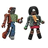 Walking Dead Minimates - Michonne and One-Eyed Zombie