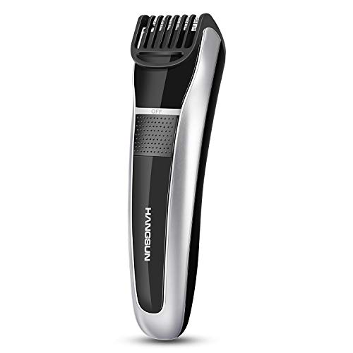 Hangsun Beard Trimmer Hair Clippers Rechargeable Body Mustache Stubble for Men Cordless Grooming Haircut Kit HC150 with Adjustable Blade Combs and Safety Lock