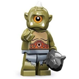 LEGO Series 9 Collectible Minifigure - Cyclops with Club (71000)