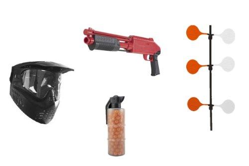 JT Splatmaster Z200 Shotgun Target Shooting Set Up