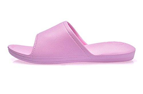 Bad Hausschuhe, outgeek 1 Paar Home Bad Hausschuhe Leichte EVA Non Slip Bad Sandalen für Erwachsene Pink