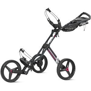 Sun Mountain Speed Golf Cart GT, Gun-Pink, Gunmetal/Pink