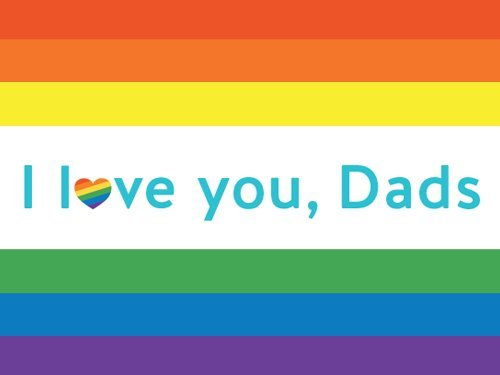 I love you, Dads gift card link image