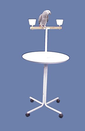 Pele Parrot Playstand - Size 23 by BirdCages4Less