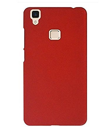 detailed look f17e0 0b457 Rubberised Matte Hard Case Back Cover For VIVO V3: Amazon.in ...