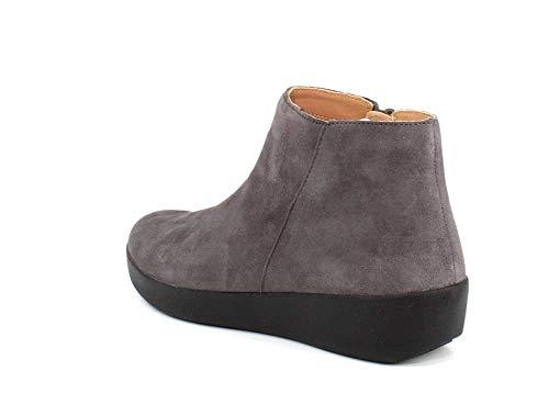 Femmes Fitflop 8 Sumi Grey Sneaker Steel d1fU10