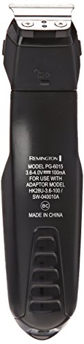 Remington PG6015A Rechargeable and Trimmer, Black