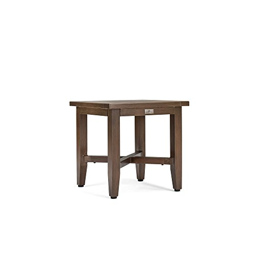 Blue Oak Outdoor Bahamas Patio Furniture Aluminum Side Table (Furniture Banana Weave)