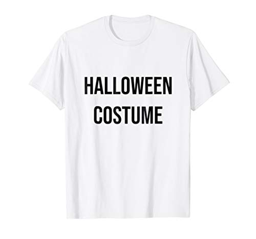 Halloween Costume T-shirt // funny punny easy costume ()