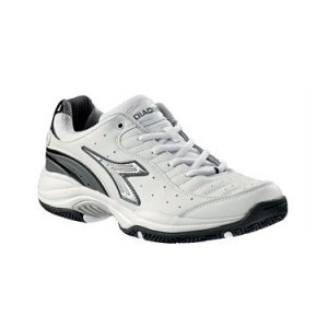 DIADORA Star Club 2, scarpa uomo tennis, bianco, Taglia: 45
