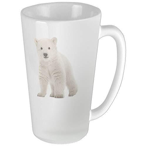 (Polar Bear Cub Funny Coffee Mug Cool Coffee Tea Cup 17 Ounces Perfect Gift for Family and Friend)